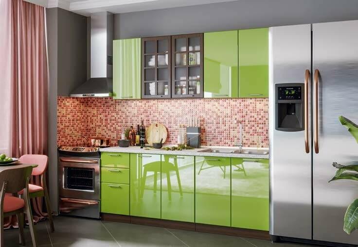 Кухонный гарнитур «Техно»  (2 м)