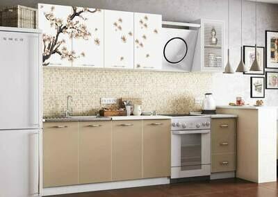 Кухонный гарнитур «Фортуна Сакура»2 м