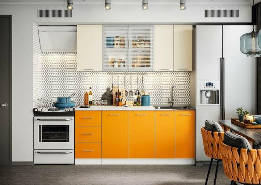 Кухонный гарнитур «Фортуна Манго» 1,8 м