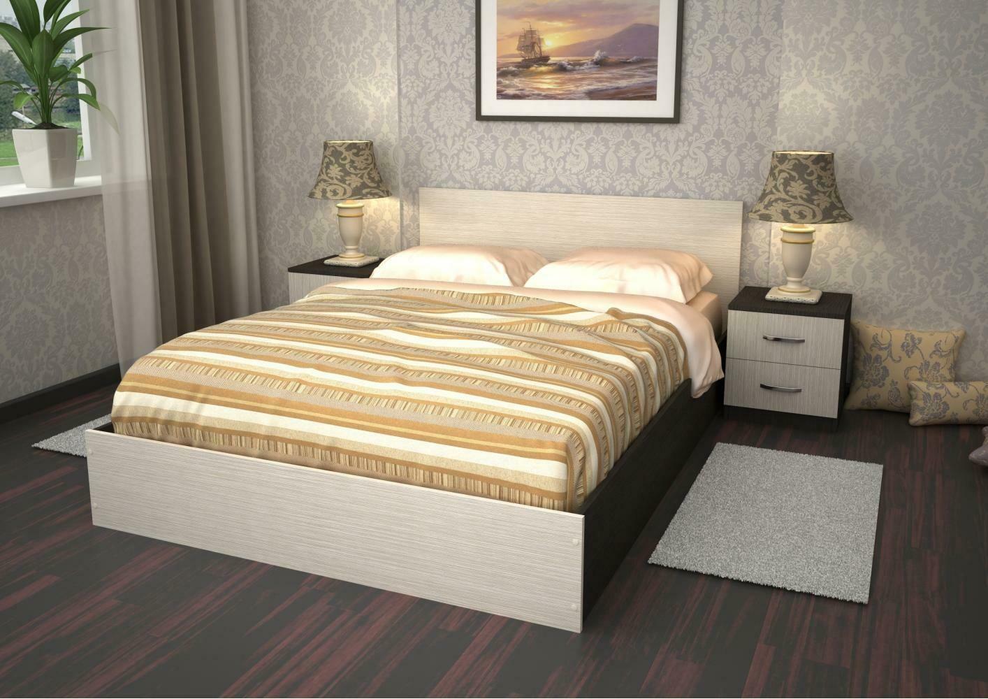 """Кровать """"Раевская"""" 2-х спальная 1,4*2 метра"""