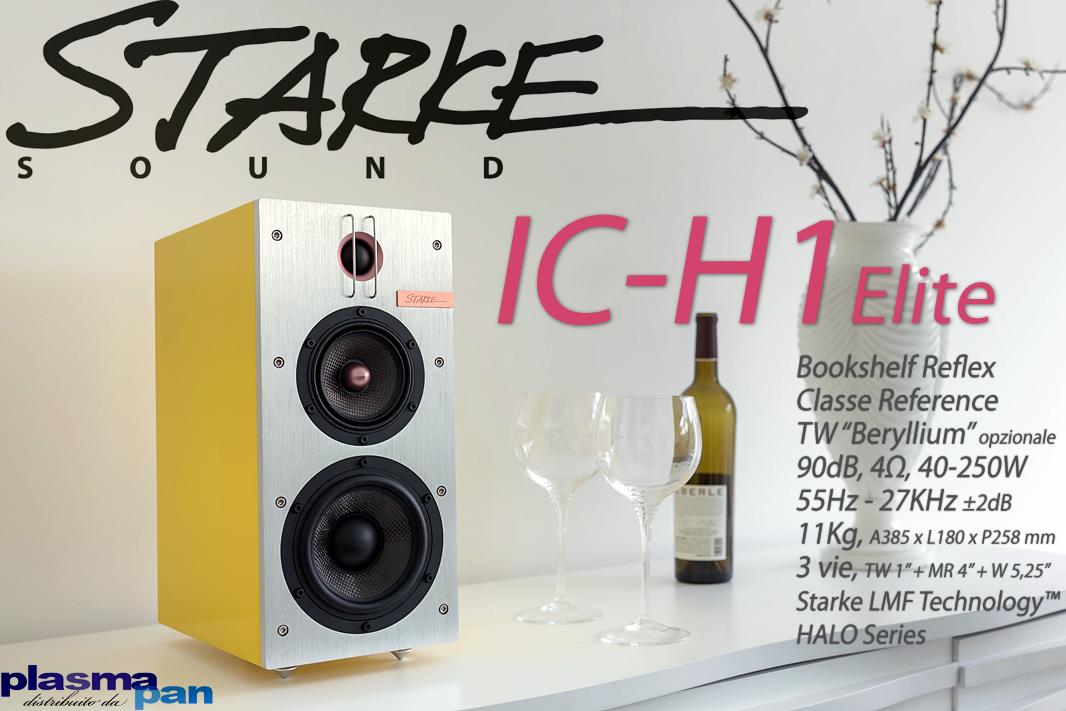 STARKE SOUND IC-H1 Elite Diffusori Acustici ( casse ) [coppia] HiFi Reference