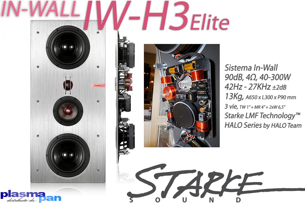 STARKE SOUND IW-H3 Elite Diffusori Acustici ( casse ) [coppia] Incasso In-Wall Reference