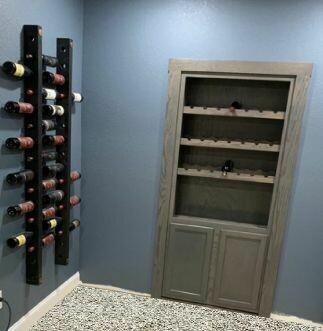 Single Wine Glass Door