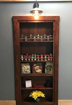 Spice Organizer Door