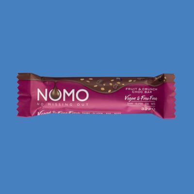 NOMO Chocolate Bar: Fruit & Crunch