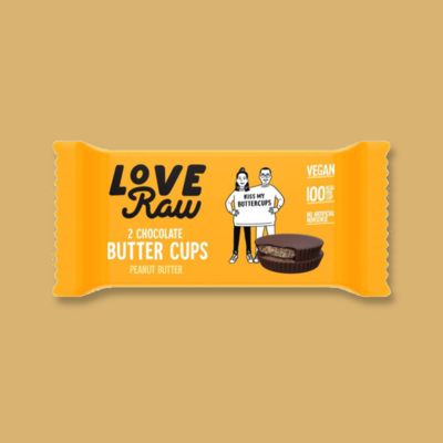 LoveRaw Chocolate Butter Cups: Peanut Butter