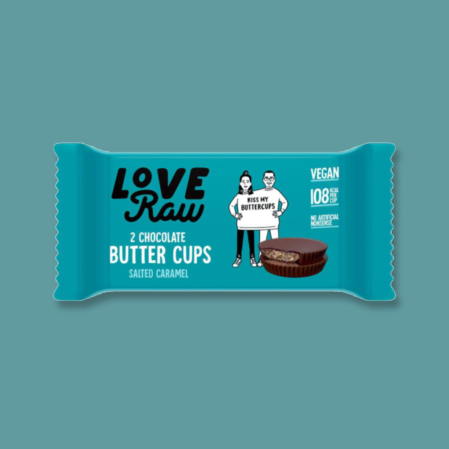 LoveRaw Chocolate Butter Cups: Salted Caramel