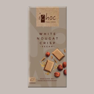 iChoc Bar: White Nougat Crisp