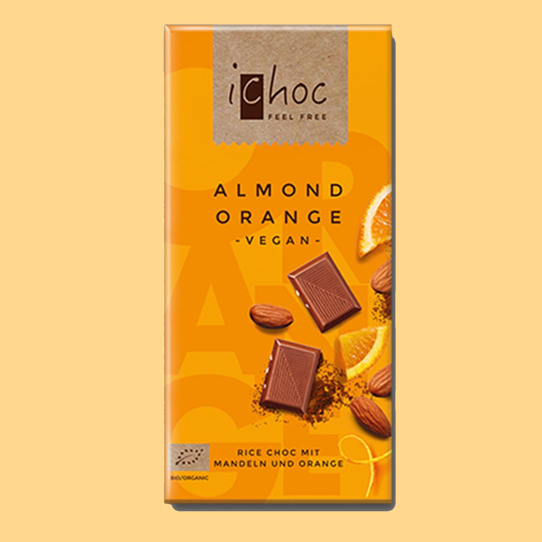 iChoc Bar: Almond Orange