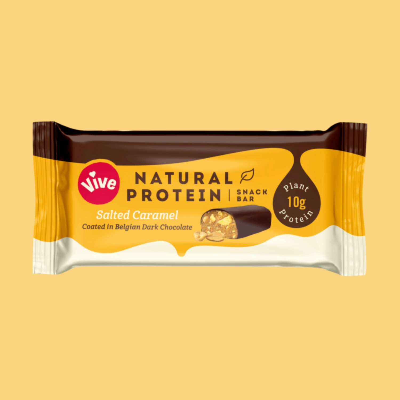 Vive Protein Bar: Salted Caramel