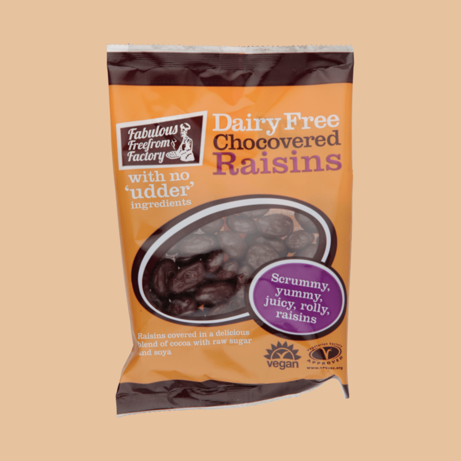 Fabulous Freefrom Factory: Chocolate Covered Raisins