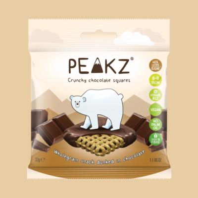 Peakz Chocolate Squares - Plain Flavour