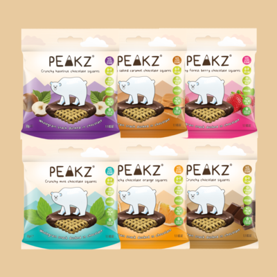 Peakz Chocolate Squares Bundle