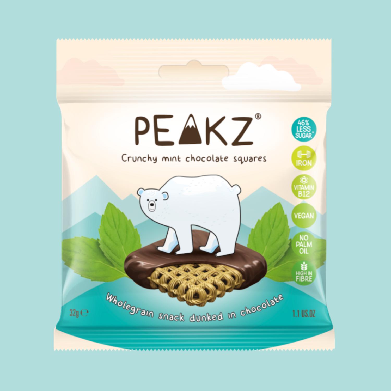 Peakz Chocolate Squares - Mint Flavour
