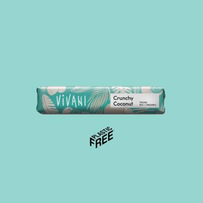 Vivani Bar: Crunchy Coconut Chocolate