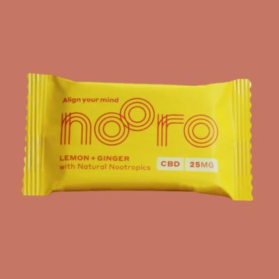 Nooro CBD Bars: Lemon & Ginger