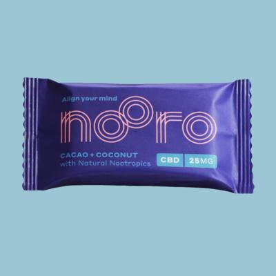 Nooro CBD Bars: Cacao & Coconut