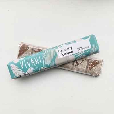 Vivani Bar: Crunchy Coconut Chocolate DAMAGED BARS