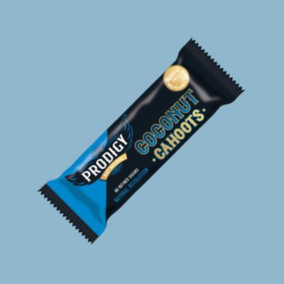 Prodigy Snacks: Coconut Cahoots Bar DAMAGED BARS