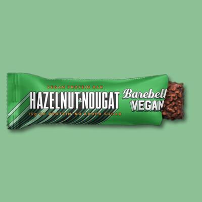 Barebells Vegan Protein Bar: Hazelnut & Nougat