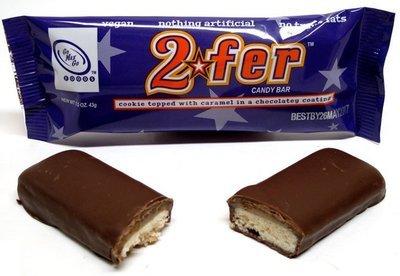 Go Max Go: 2Fer Bar (Vegan Chocolate Shortbread Bar)