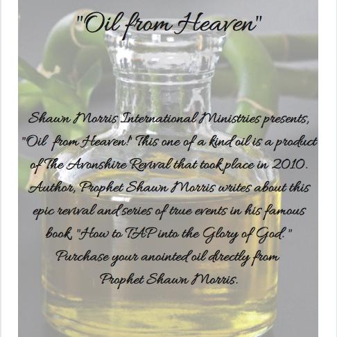 Oil from Heaven