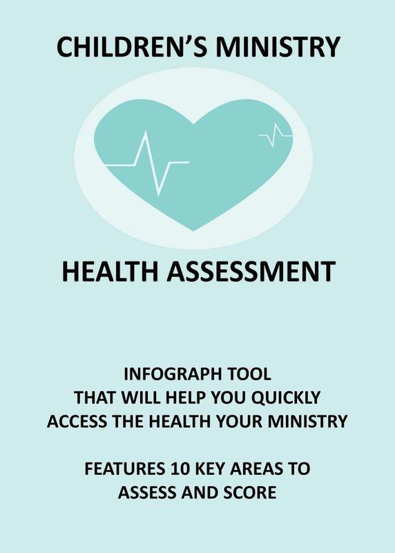 CHILDREN'S MINISTRY HEALTH ASSESSMENT