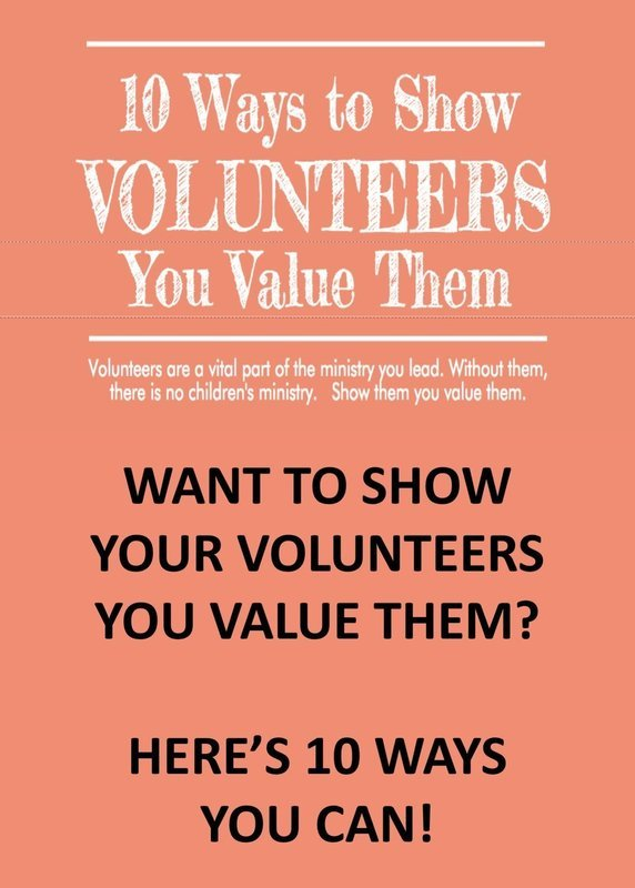 10 Ways to Show Volunteers You Value Them