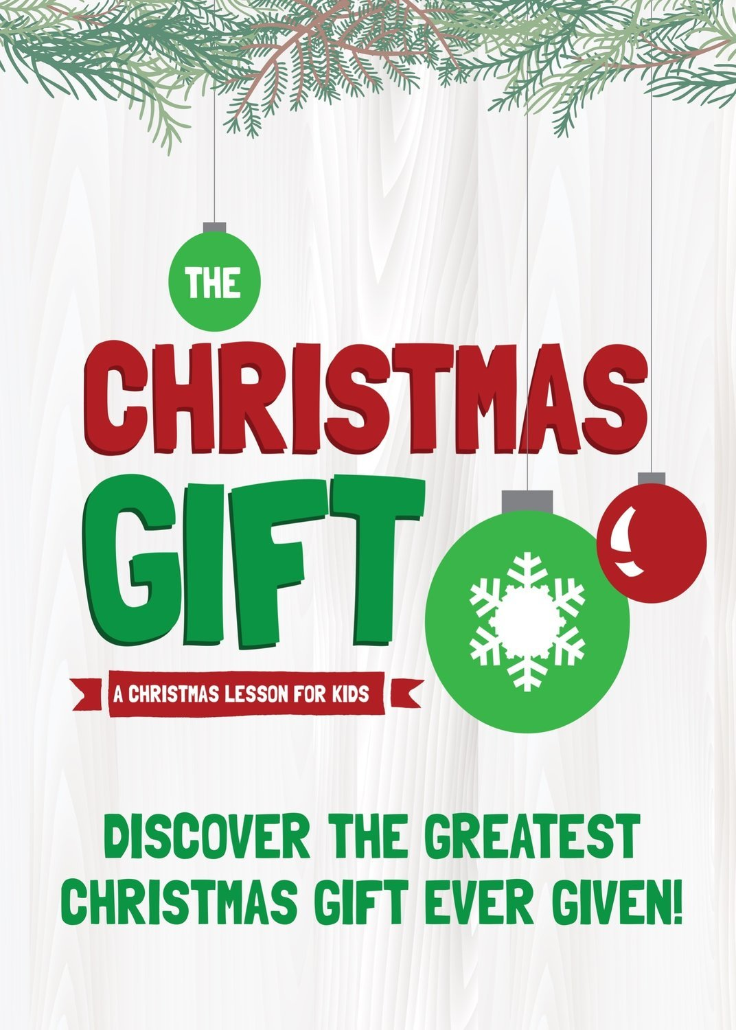 THE CHRISTMAS GIFT (Christmas lesson for kids)