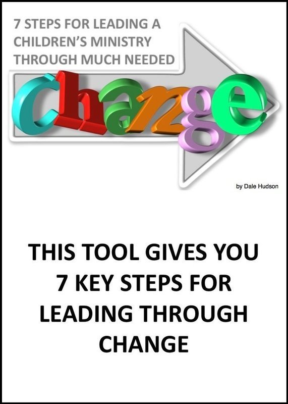 7 Steps for Leading a Children's Ministry Through Much Needed Change
