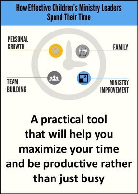 HOW EFFECTIVE CHILDREN'S MINISTRY LEADERS SPEND THEIR TIME