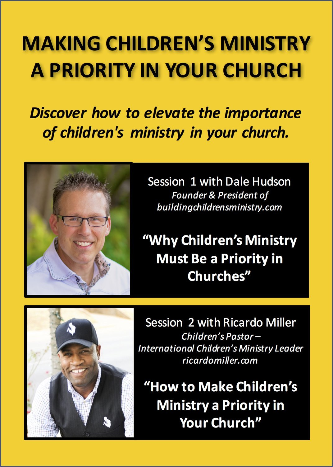 """Making Children's Ministry a Priority""  Video Seminar"