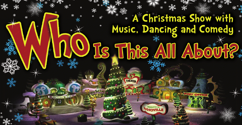 WHO'S THIS ALL ABOUT? (Christmas Family Experience)