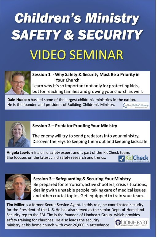 CHILDREN'S MINISTRY SAFETY & SECURITY VIDEO SEMINAR