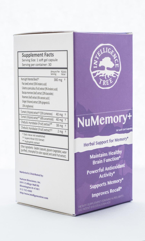 NuMemory+ - 30 soft gel capsules