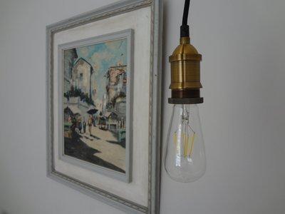 Bare Bulb Filament Vintage Pendant