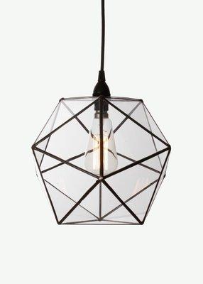 Icosa Glass Pendant by ARKIVIO