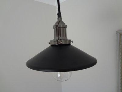 Classic Vintage Black Pendant – 21cm