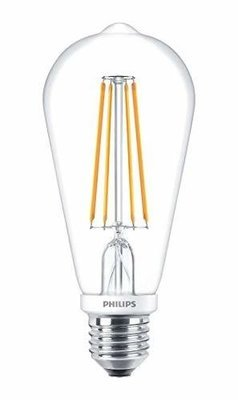Philips 7W ST64 LED Filament WW Dimmable Deco Bulb