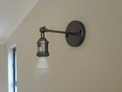 Classic Bare Bulb Wall Sconce