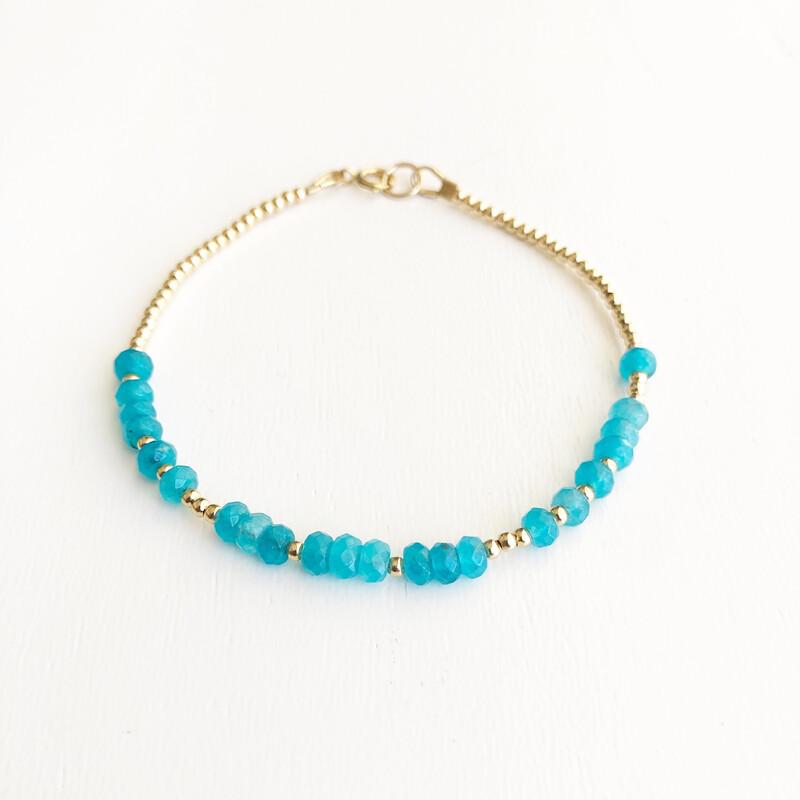 Love REEminder Bracelet - Aqua Jade