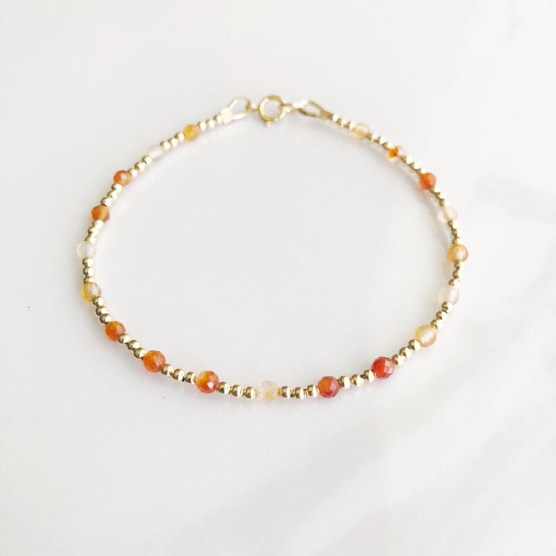 ZuREE Bracelet - Carnelian