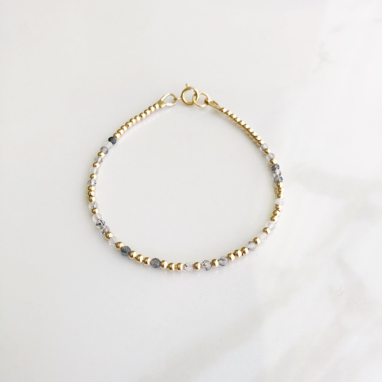Blessed REEminder Bracelet - Rutilated Quartz