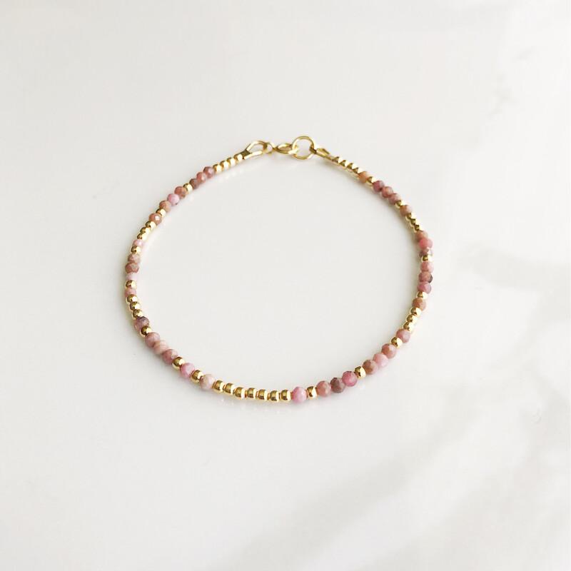 GRL PWR REEminder Bracelet - Rhodochrosite