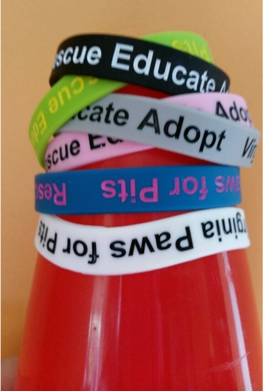 Rescue, Educate, Adopt Bands