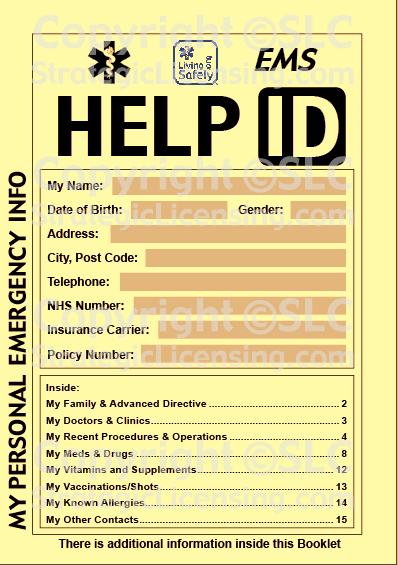 Living Safely™ HELP ID™ Booklet