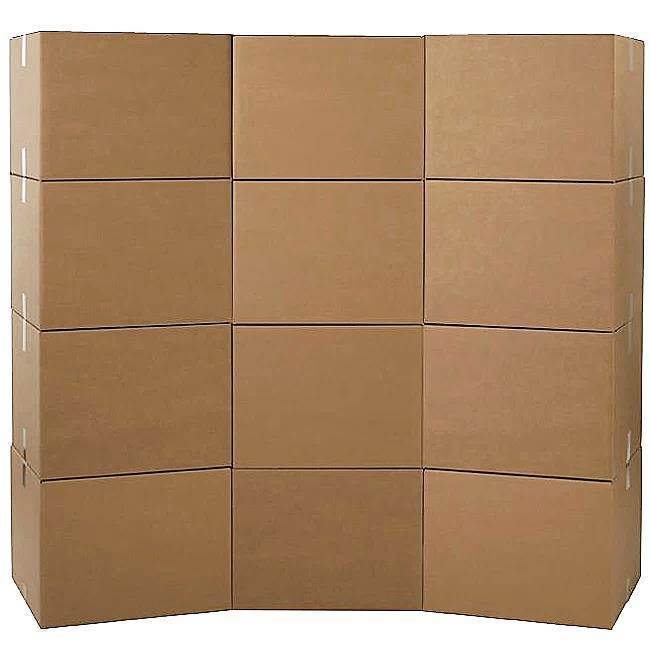 Large Moving Boxes - Bundle of 12 Boxes