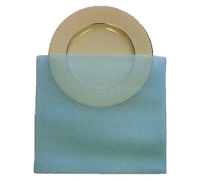 Saucer Pouches Pack of 10 for China & Valuables 13x12
