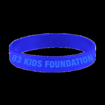 83 KIDS FOUNDATION BAND - BLUE