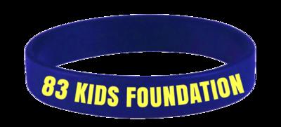 83 KIDS FOUNDATION BAND - BLUE & YELLOW